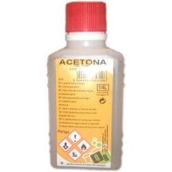 Acetona 250 ml.